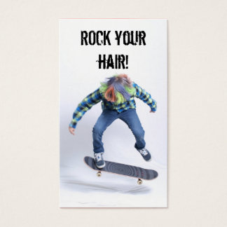 ROCK Your Hair!! Business Card