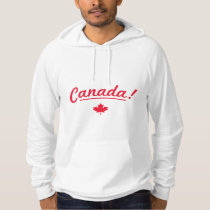 Rock your nation hoodie - Canada! - White /Red