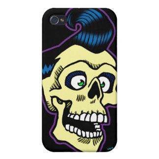 Rockabilly 00 de Ness iPhone 4/4S Carcasas