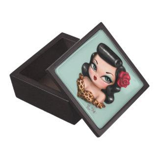 Rockabilly Baby Doll Jewelry Box