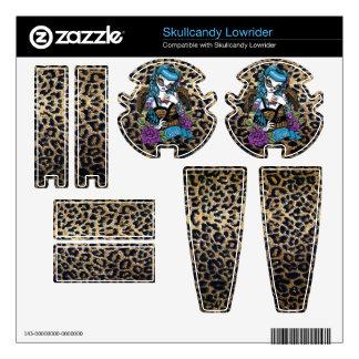 Rockabilly Baby Leopard Angel Skullcandy Lowrider Skins For Skullcandy