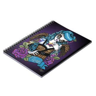 Rockabilly Baby Tattoo Angel Notebook