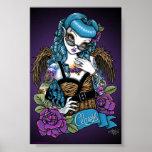 Rockabilly Baby Tattoo Angel Poster
