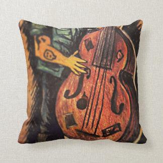 Rockabilly Bass Pillow