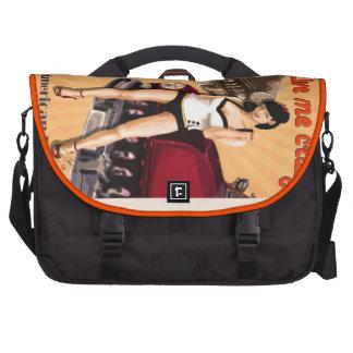Rockabilly Car Laptop Commuter Bag