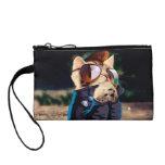 Rockabilly cat - biker cat - rocker cat - cute cat change purse