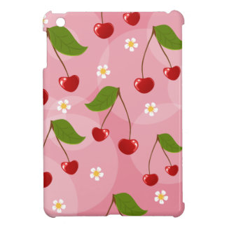 Rockabilly Cherry Pattern Cover For The iPad Mini