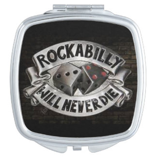 Rockabilly Compact Mirror