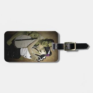 Rockabilly Couple Bag Tag