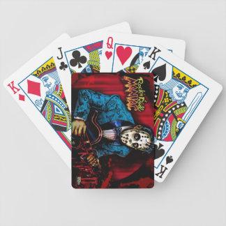 Rockabilly del maniaco del rollo de la roca n baraja cartas de poker