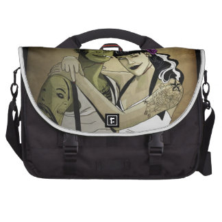 Rockabilly Frank and Bride Commuter Bag