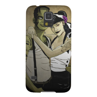 Rockabilly Frank and Bride Galaxy S5 Cover
