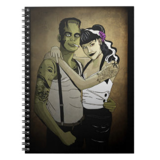 Rockabilly Frank and Bride Note Books