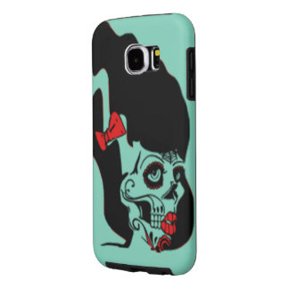 Rockabilly Frankenstein Pinup Samsung Galaxy S6 Case