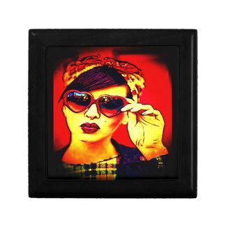 rockabilly glam keepsake box
