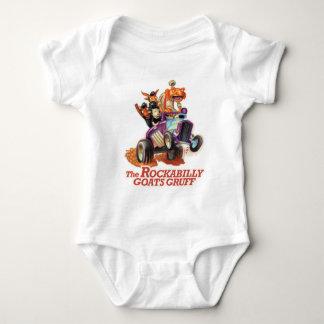 Rockabilly Goats Gruff - Rockabilly Baby Baby Bodysuit