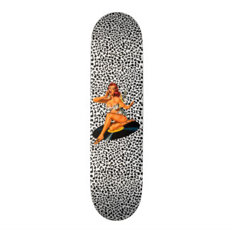 Rockabilly Goddess Skateboard Deck