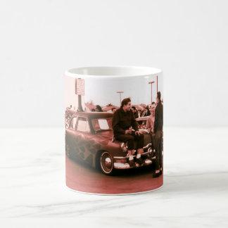 Rockabilly Hotrodders Basic White Mug