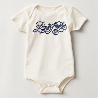 Rockabilly Los Angeles Baby creeper - Blue