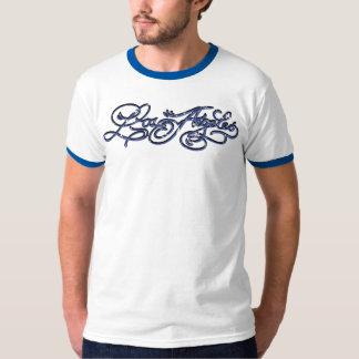 Rockabilly Los Angeles T-shirt - Blue