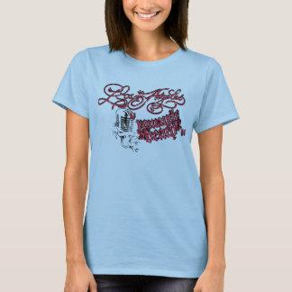 Rockabilly Los Angeles T-shirt - Red Design