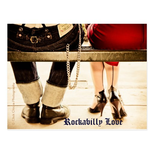 Rockabilly Love Postcards (set of 8)