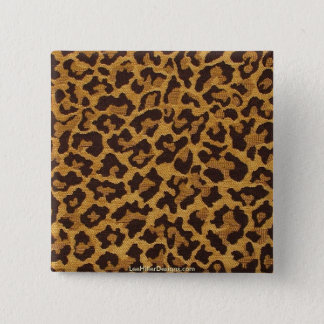 Rockabilly rab Leopard Print Gifts & Collectibles Pinback Button