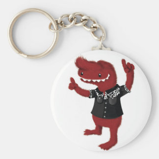 Rockabilly Red Monster Rebel Key Chains