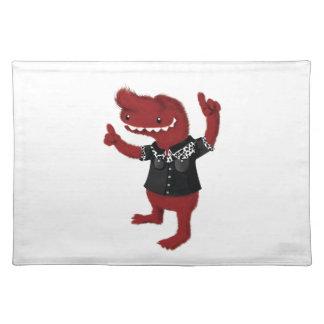 Rockabilly Red Monster Rebel Place Mat