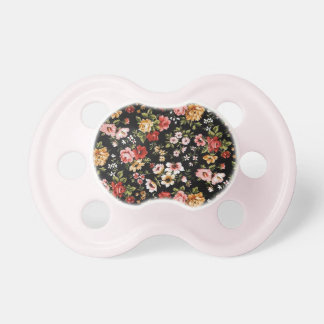 Rockabilly retro fifties floral daisies pacifiers