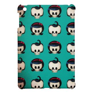 Rockabilly Skulls Pattern iPad Mini Covers
