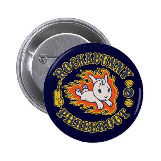 Rockabunny Phreekout 2 Inch Round Button
