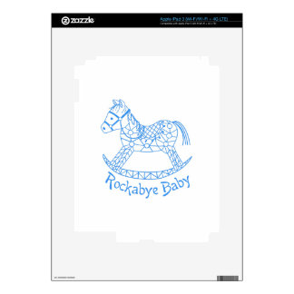 Rockabye Baby iPad 3 Skin