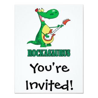 rockasaurus rock n roll dino dinosaur.ai card