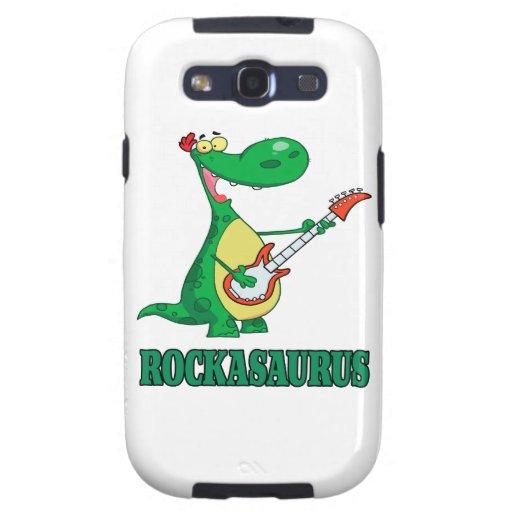 rockasaurus rock n roll dino dinosaur.ai galaxy SIII cover