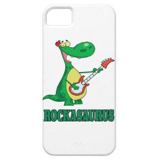 rockasaurus rock n roll dino dinosaur.ai iPhone SE/5/5s case