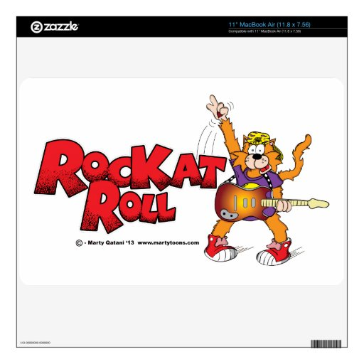 RocKat Roll MacBook Air Skin