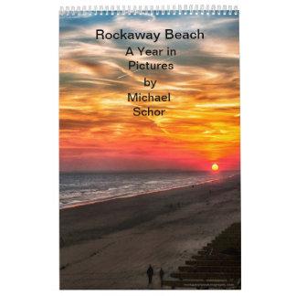 Rockaway Beach - A Year in Pictures Calendar