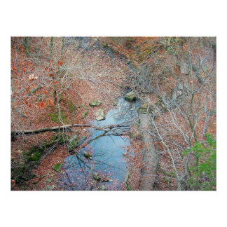 Rockbridge State Park 2 - Fall Poster