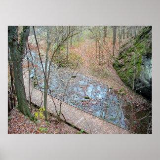 Rockbridge State Park - Fall Print