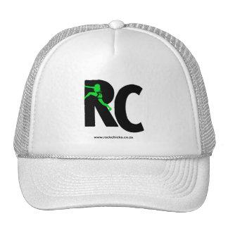 rockchickslogo_green y ennegrézcase gorras de camionero