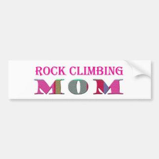 RockClimbingMom Car Bumper Sticker