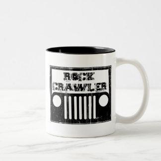 rockcrawler Two-Tone coffee mug