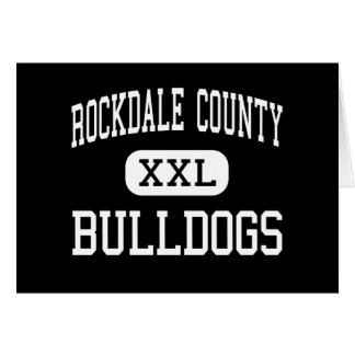 Rockdale County - Bulldogs - High - Conyers Cards