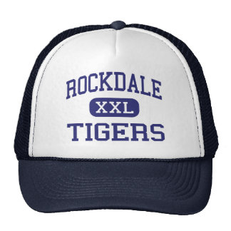 Rockdale - Tigers - High School - Rockdale Texas Trucker Hat