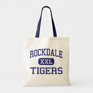 Rockdale - Tigers - Junior - Rockdale Texas Tote Bags