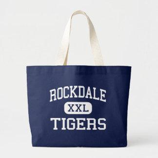 Rockdale - Tigers - Junior - Rockdale Texas Canvas Bag