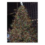 Rockefeller árbol diciembre de 2013 postal