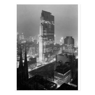 Rockefeller Center 1933 Postcard