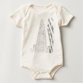 Rockefeller Center Baby Bodysuit